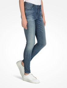 ARMANI EXCHANGE MEDIUM WASH SUPER SKINNY JEANS Skinny jeans Woman d