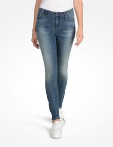 ARMANI EXCHANGE MEDIUM WASH SUPER SKINNY JEANS Skinny jeans Woman f