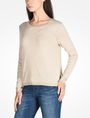 ARMANI EXCHANGE FOIL TRIM CREW NECK SWEATER Pullover D d
