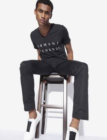 ARMANI EXCHANGE CLASSIC SLIM-FIT TWILL PANTS Dress Pant [*** pickupInStoreShippingNotGuaranteed_info ***] a
