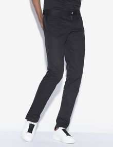 ARMANI EXCHANGE CLASSIC SLIM-FIT TWILL PANTS Dress Pant [*** pickupInStoreShippingNotGuaranteed_info ***] f