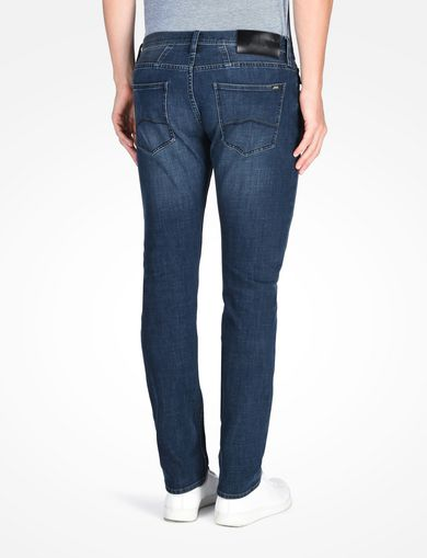 SLIM-FIT WASHED INDIGO JEAN