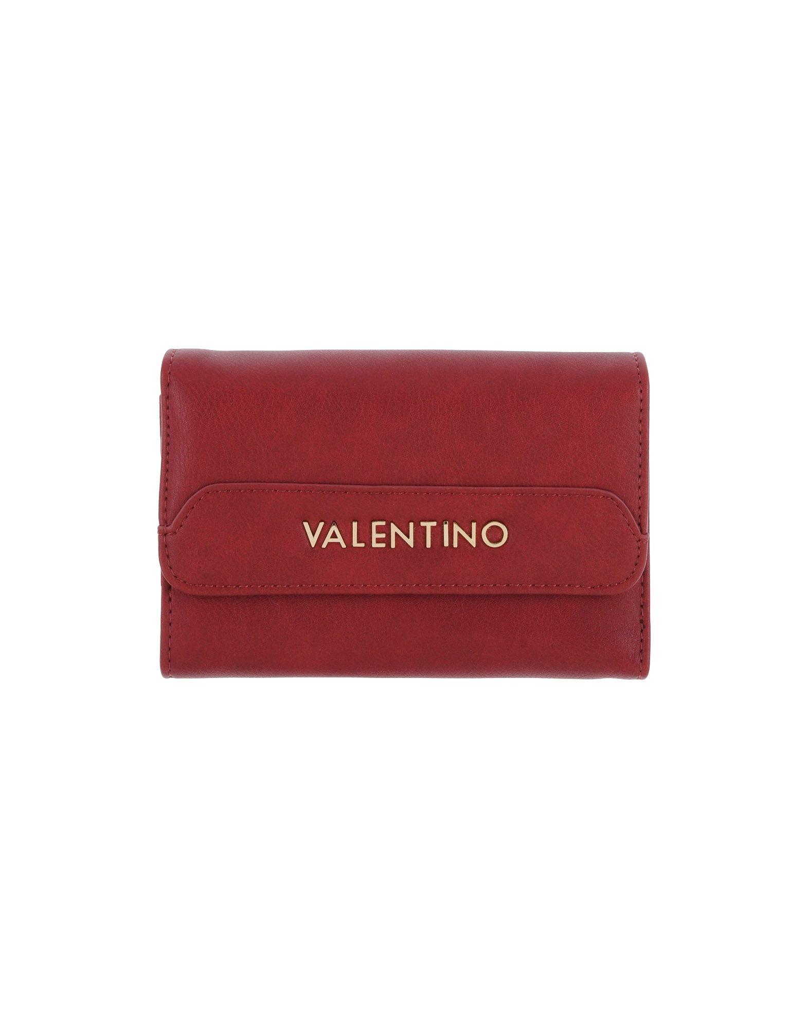 MARIO VALENTINO Damen Brieftasche Farbe Bordeaux Größe 1