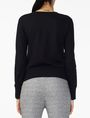 ARMANI EXCHANGE REVERSIBLE A|X SEQUIN CREW Fleece Top Woman r