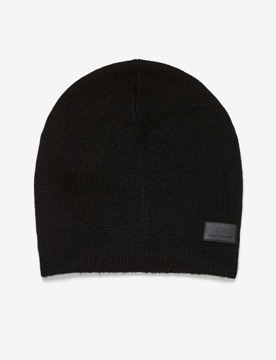 RUBBER LOGO PATCH BEANIE