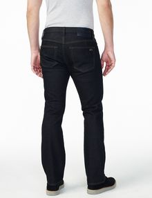 Men's dark rinse bootcut jeans