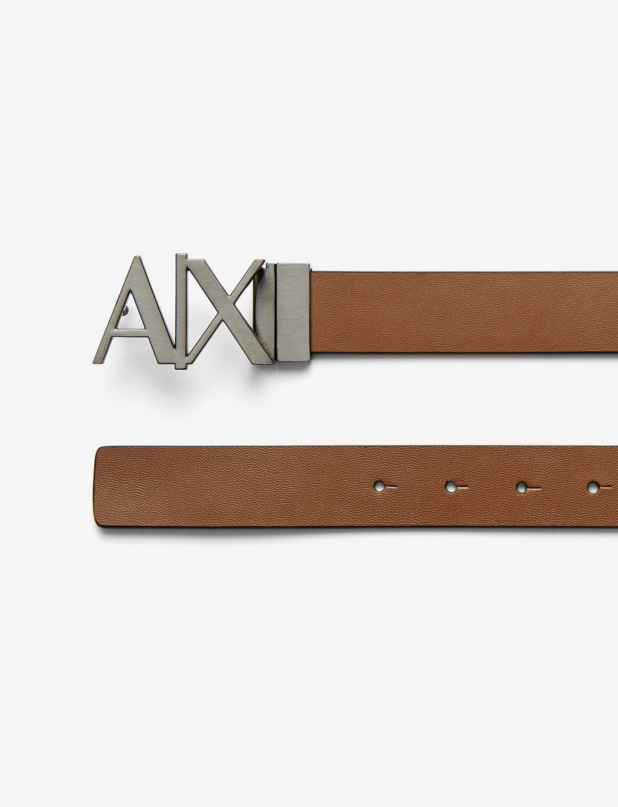 armani exchange ax reversible hinge belt belt for men