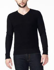 ... ARMANI EXCHANGE MERINO V-NECK SWEATER Pullover Man f ...