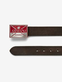 ARMANI EXCHANGE ABSTRACTED EAGLE BELT Belt U f