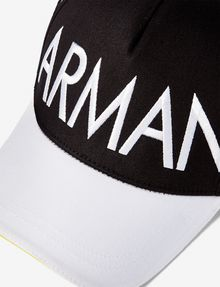 ARMANI EXCHANGE COLORBLOCK LOGO HAT Hat U e