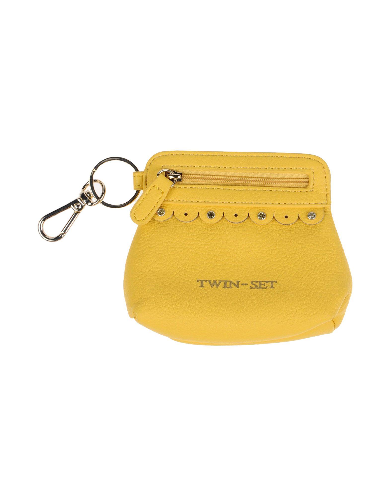 TWIN-SET Simona Barbieri Кошелек для монет pink dandelion design кожа pu откидной крышки кошелек для карты держатель для samsung j5prime