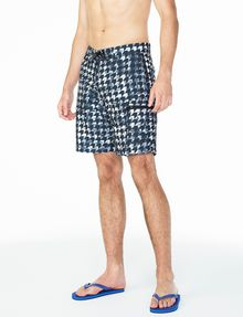 ARMANI EXCHANGE WAVE HOUNDSTOOTH SWIM SHORT Swim Man d