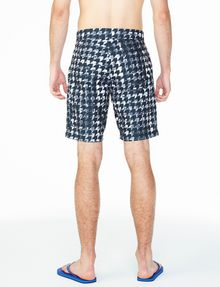ARMANI EXCHANGE WAVE HOUNDSTOOTH SWIM SHORT Swim Man r