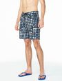 ARMANI EXCHANGE WAVE HOUNDSTOOTH SWIM SHORT Swim U d