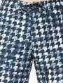 ARMANI EXCHANGE WAVE HOUNDSTOOTH SWIM SHORT Swim Man e