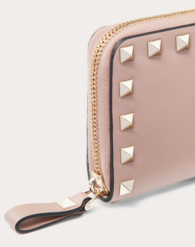 Zip Rockstud Coin Purse
