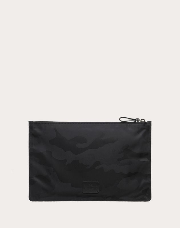 Camouflage Jacquard Pouch