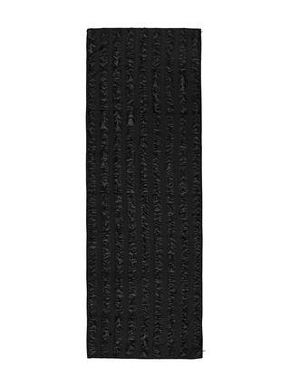 Sciarpa con lavorazione fil coupé