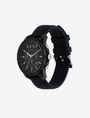 ARMANI EXCHANGE BLACK TECH SPORT CHRONO WATCH Uhr Herren r