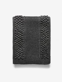 ARMANI EXCHANGE POPCORN-STITCH WOOL SCARF Scarf Woman e