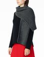 ARMANI EXCHANGE POPCORN-STITCH WOOL SCARF Scarf Woman a