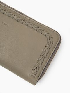 Hudson zipped wallet