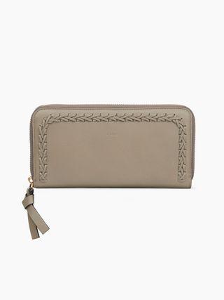Hudson zipped wallet