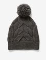 ARMANI EXCHANGE CABLE-KNIT POMPOM HAT Hat D f
