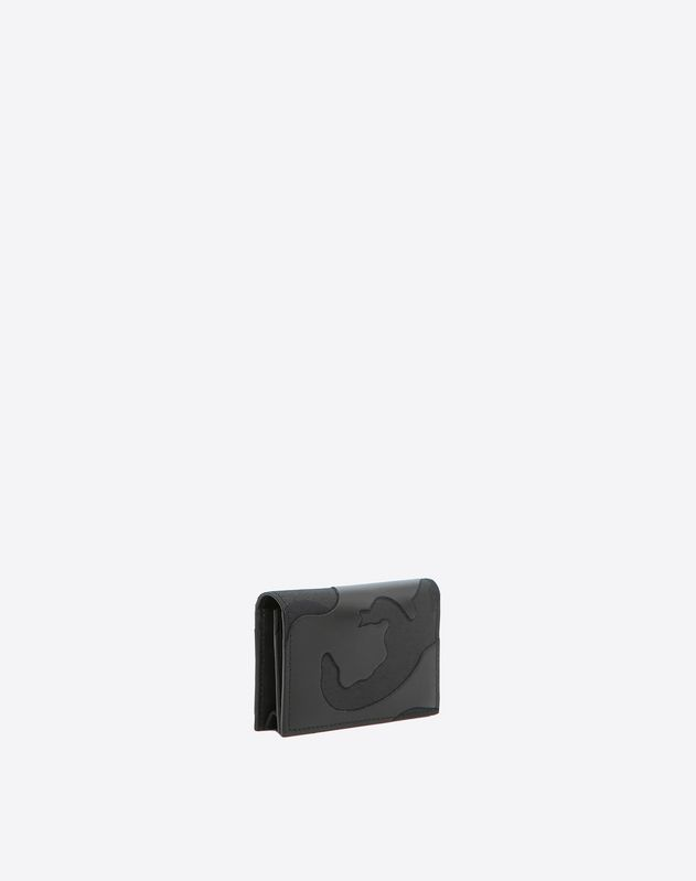 Camouflage Noir Card Holder