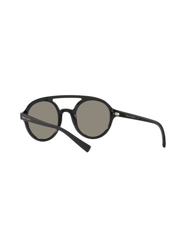 DARK ROUND VINTAGE AVIATOR SUNGLASSES