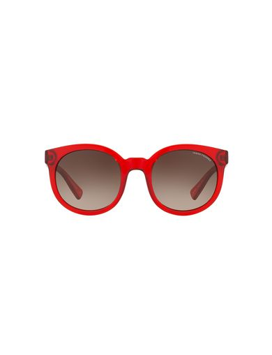 LIPSTICK RED MOD SUNGLASSES