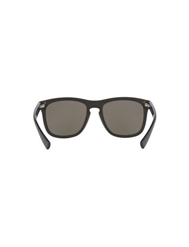 BICOLOR CONTRAST-LINED RETRO SUNGLASSES