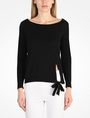 ARMANI EXCHANGE BOAT NECK SWEATER Pullover Woman f