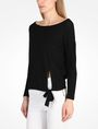 ARMANI EXCHANGE BOAT NECK SWEATER Pullover Woman r