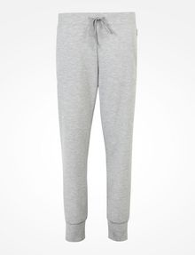ARMANI EXCHANGE DEBOSSED LOGO JOGGER PANTS Fleece Trouser Woman b