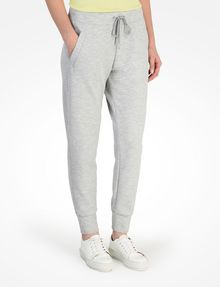 ARMANI EXCHANGE DEBOSSED LOGO JOGGER PANTS Fleece Trouser Woman d