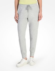 ARMANI EXCHANGE DEBOSSED LOGO JOGGER PANTS Fleece-Hose Damen f