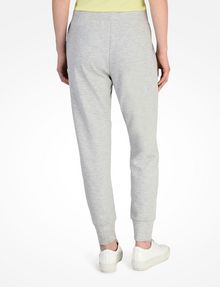 ARMANI EXCHANGE DEBOSSED LOGO JOGGER PANTS Fleece Trouser Woman r