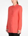 ARMANI EXCHANGE SHEER SLEEVE TUNIC L/S Woven Top Woman d