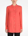 ARMANI EXCHANGE SHEER SLEEVE TUNIC L/S Woven Top Woman f