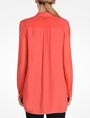 ARMANI EXCHANGE SHEER SLEEVE TUNIC L/S Woven Top Woman r