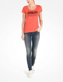 ARMANI EXCHANGE Short-Sleeved Tee Woman a