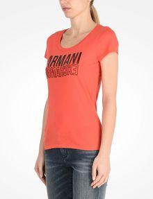 ARMANI EXCHANGE Short-Sleeved Tee Woman d