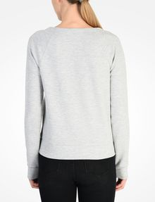 ARMANI EXCHANGE DEBOSSED LOGO SWEATSHIRT Fleece-Top Damen r