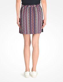 ARMANI EXCHANGE RETRO PRINT DRAWSTRING WAIST SKIRT Skirt Woman r