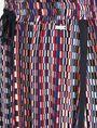 ARMANI EXCHANGE RETRO PRINT DRAWSTRING WAIST SKIRT Skirt Woman e