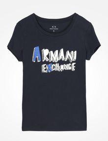 ARMANI EXCHANGE ロゴTシャツ ロゴTシャツ レディース b