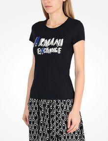 ARMANI EXCHANGE ロゴTシャツ ロゴTシャツ レディース d