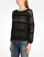 ARMANI EXCHANGE OPEN STITCH SWEATER Pullover Woman d