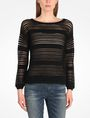 ARMANI EXCHANGE OPEN STITCH SWEATER Pullover Woman f